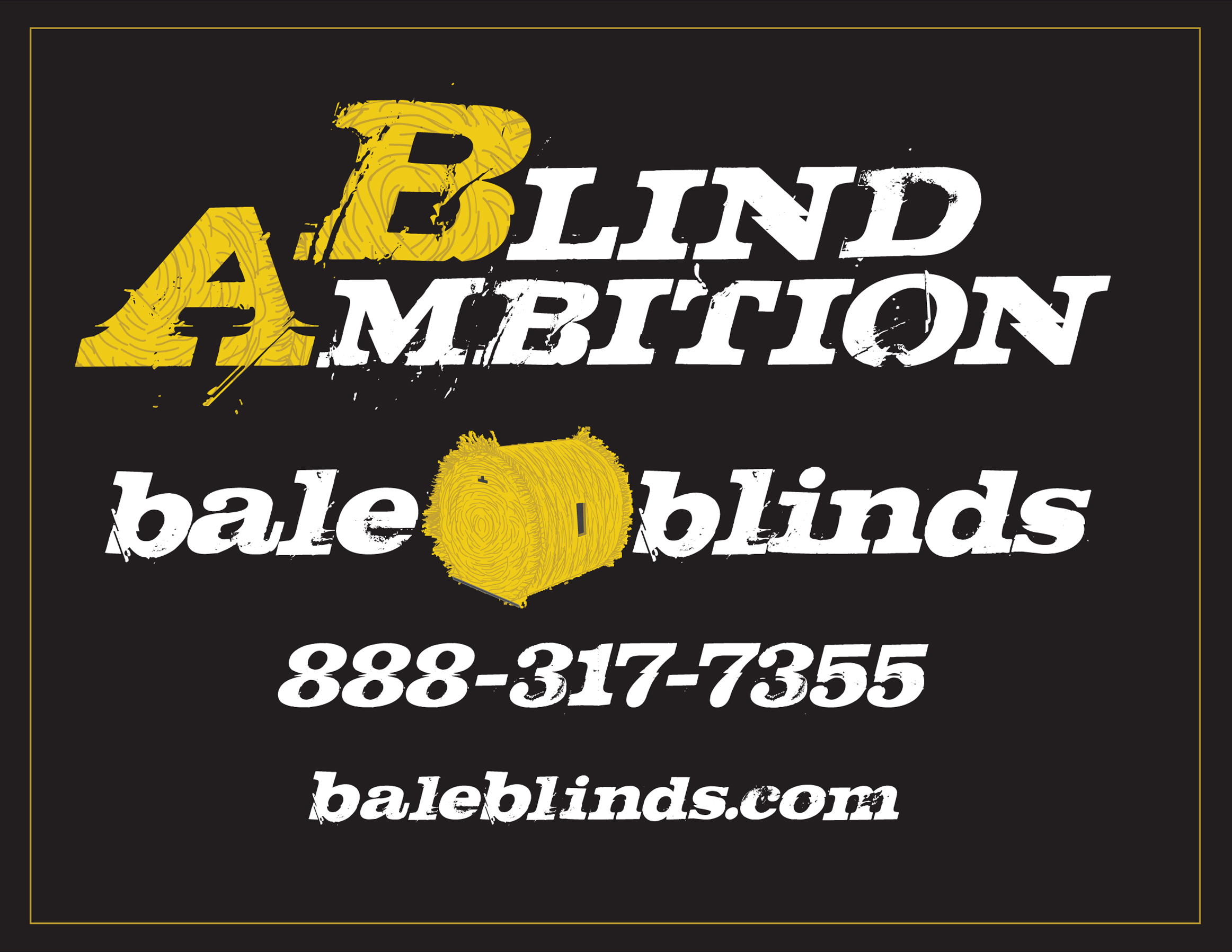 hay bale blinds by Blind Ambitions Bale Blinds - hunting blinds for deer hunting and waterfowl hunting