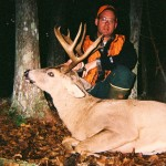 Troy Spooner with mature big woods buck from the Upper Peninsula of Michigan