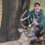 NextBuk Outdoors Pro Staffer Jason Herbert with nice Michigan whitetail buck