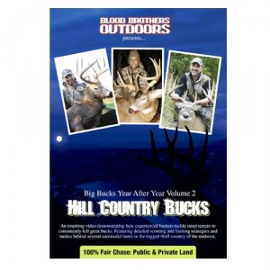 Hill Country Bucks Hunting Video - DVD Hunting Hilly Terrain