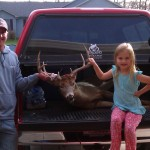 NextBuk Outdoors Pro Staffer and family man, Joe Runde, with big Wisconsin public access buck
