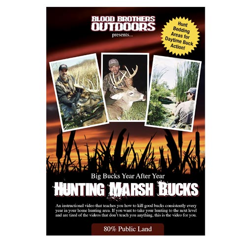 hunting video how to hunt cattail marshes - hunting marsh bucks