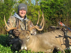 NextBuk Outdoors Pro Staffer Mike Grenier with big Ohio buck