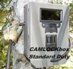 Camlock Box - Bear Box - Anti-Theft Box - Trail Camera Security Box - Bushnell model