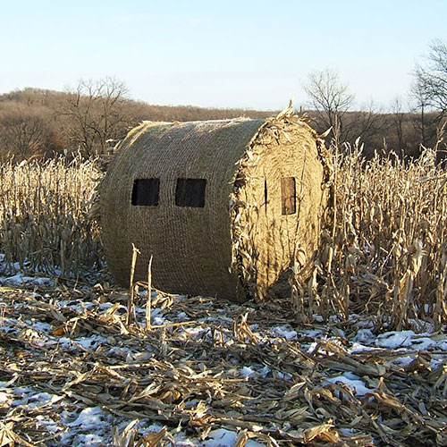 Hay Bale Blind Round Bale Ground Blind Redneck Blind