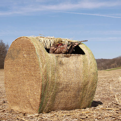 Hay Bale Blind Hunting Blind Round Bale Ground Blind