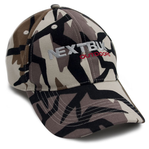NextBuk (next buck) Baseball Hat Predator Fall Gray Camouflage