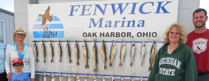 Lake Erie Walleye Fishing with Paul Ranft, The Outfitters