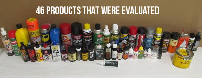 gun care products evaluated
