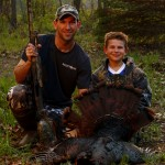 southern Michigan wild turkey