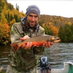 fly fishing brook trout ontario canada kwagama lake lodge