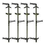 XOP climbing sticks green sand finish 4 pack