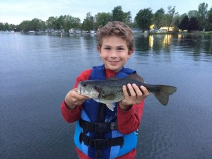 southern michigan largemouth bass fishing